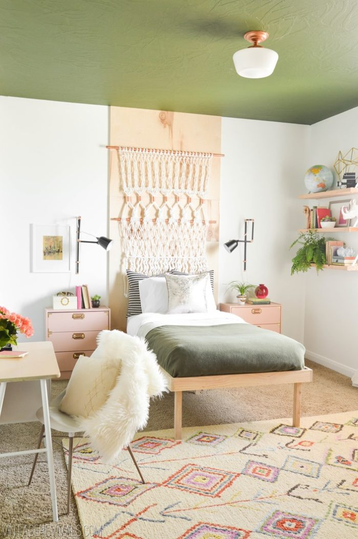 Teen Girl Room Design: The Builder's Wife