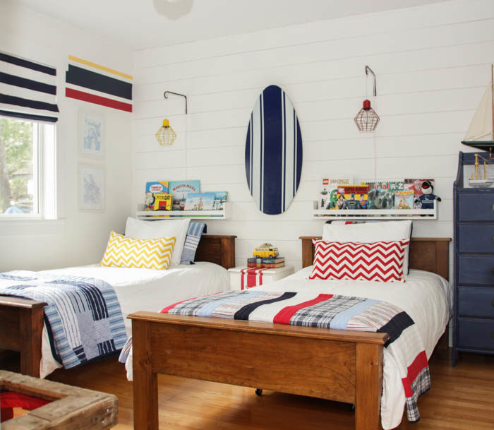 Boys rooms inspired space the builder 39 s wife for Boys nautical bedroom ideas