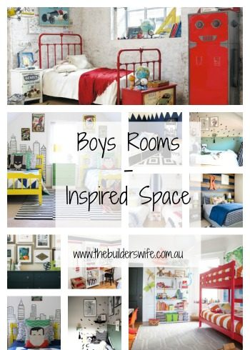 Boys Rooms – Inspired Space