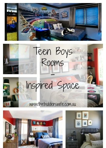 Teen Boys Rooms – Inspired Space