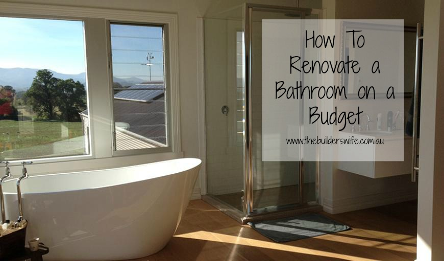 How to renovate