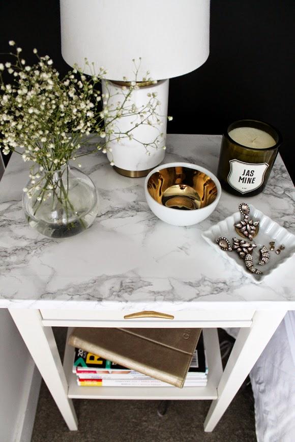 bedside-table-marble-diy