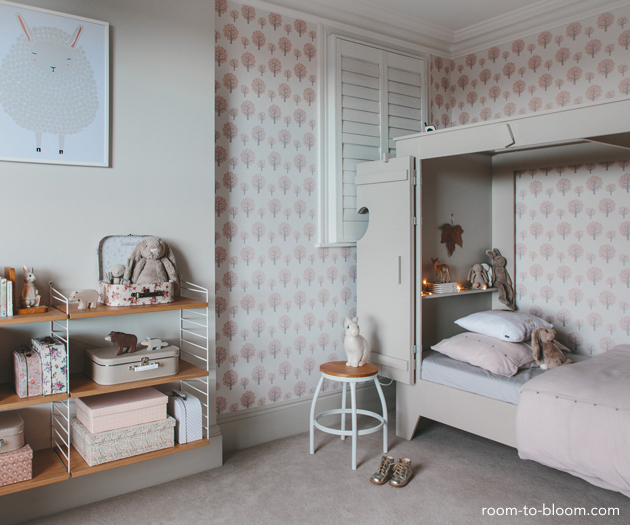 The Builders Wife - Girls Rooms to Inspire - Inspired Space on Teenage Grey Small Bedroom Ideas  id=98225