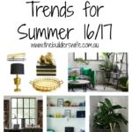 Five Interior Trends for Summer 16/17