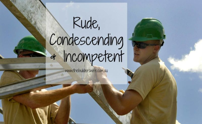 Rude, Condescending and Incompetent