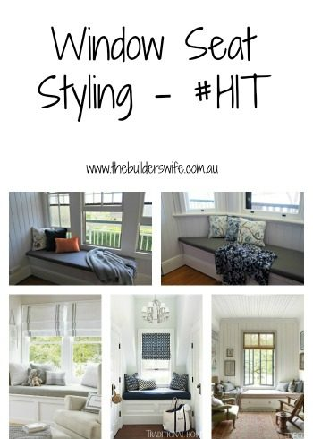 Window Seat Styling – #HIT