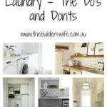 Renovating Your Laundry – The Do's and Don'ts