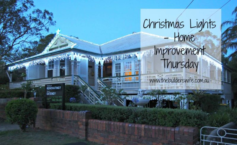 Christmas Lights – Home Improvement Thursday