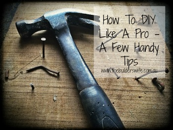 How To DIY Like A Pro