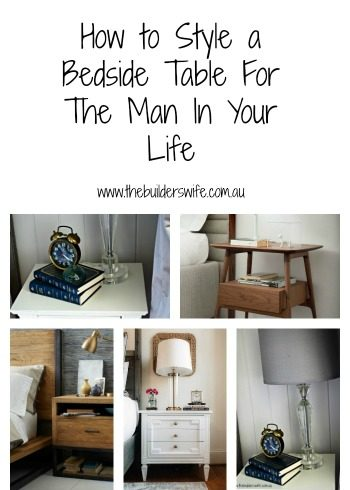 How To Style A Bedside Table For A Man – #HIT