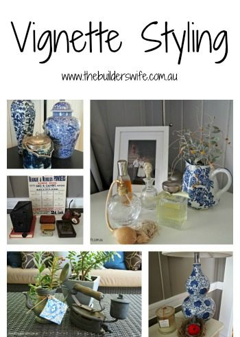 Styling A Vignette & A Coffee With Kirsten