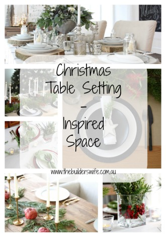 Christmas Table Setting – Inspired Space