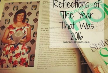 Reflections of the Year That Was 2016