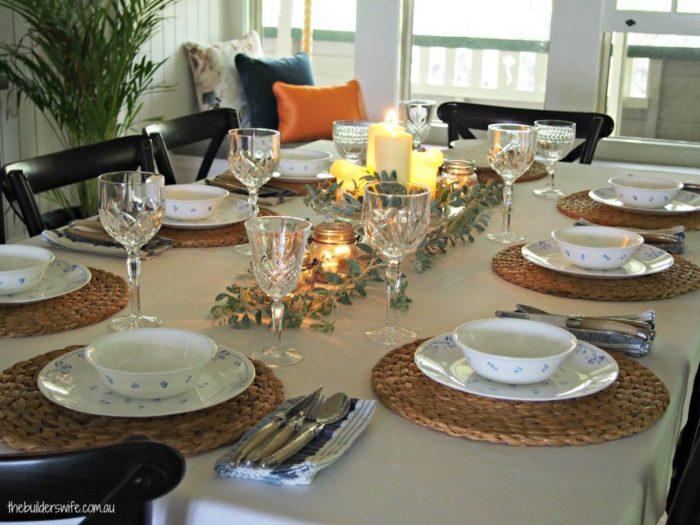 australian christmas table decorating