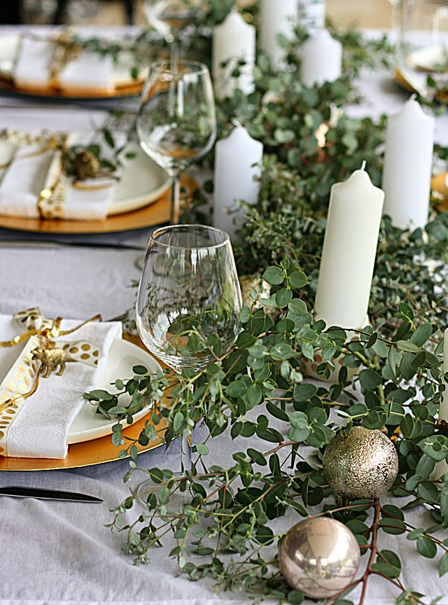 Christmas Table Setting Inspired Space The Builder S Wife