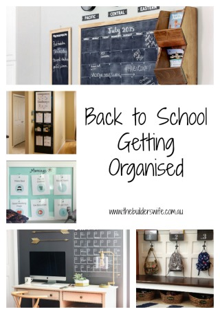Back to School Getting Organised – Inspired Space