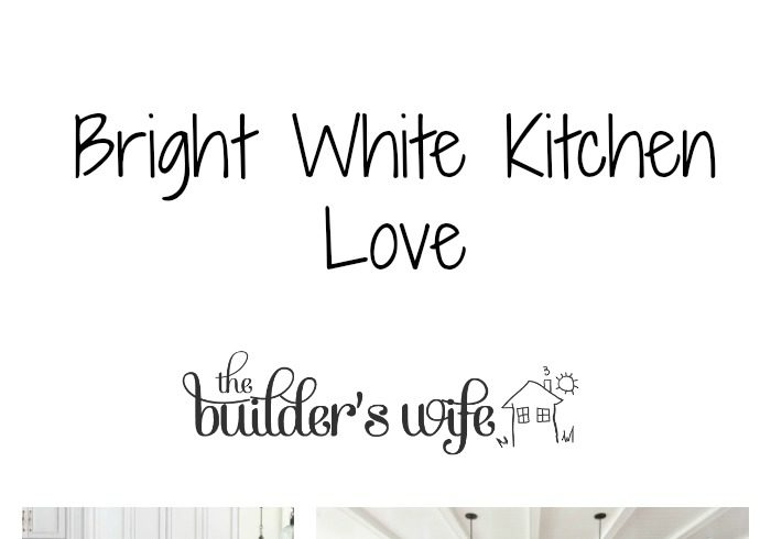 Bright White Kitchens – Inspired Space