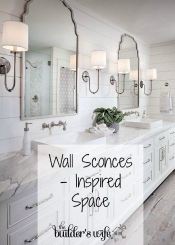Wall Sconces In Bathrooms – Inspired Space