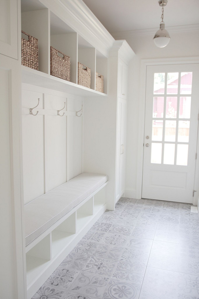 Mudroom-with-cement-tile.-White-Mudroom-with-light-grey-cement-tile.-Mudroom-with-cement-tile.-MudroomcementTile-Mudroom-cementTile-jshomedesign