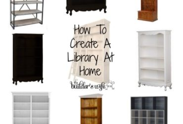 Creating A Library At Home