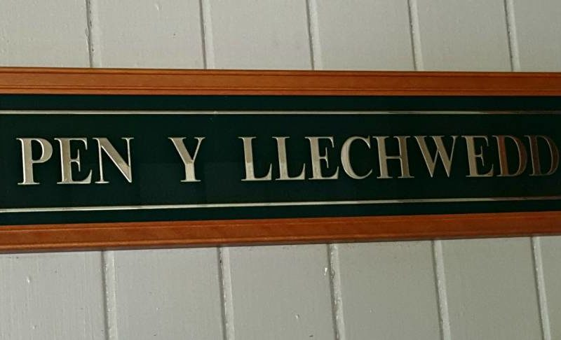 What's In A Name – Pen Y Llechwedd
