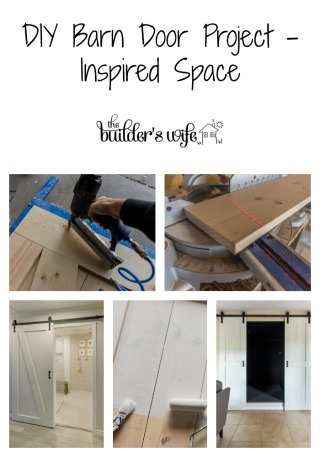 DIY Barn Door Project – Inspired Space