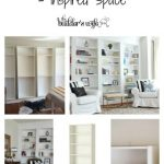 DIY Built-In Shelves Project – Inspired Space