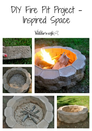 DIY Fire Pit Project – Inspired Space