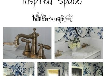 DIY Bathroom Makeover – Inspired Space