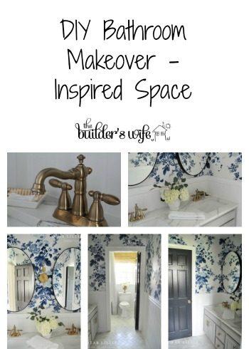 DIY Bathroom Makeover – Inspired Space
