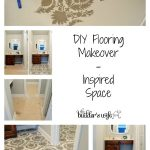 DIY Flooring Makeover – Inspired Space