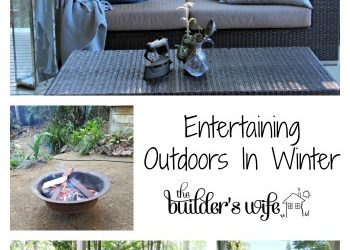 Entertaining Outdoors In Winter