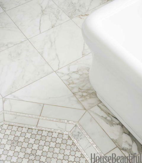 art deco style bathrooms tiling marble grey and white