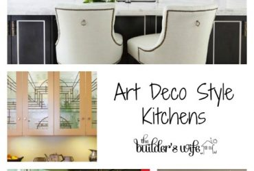 Art Deco Style Kitchen – Inspired Space