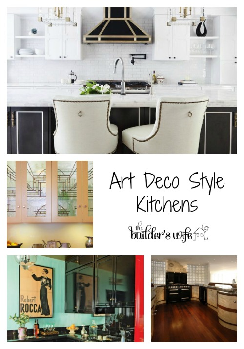 Art Deco Style Kitchen Inspired Space The Builder S Wife