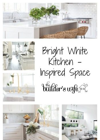 Bright White Kitchen – Inspired Space