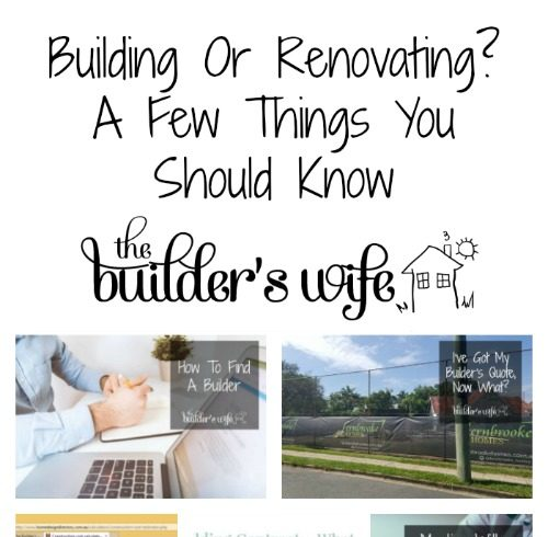 Building Or Renovating? A Few Things You Should Know
