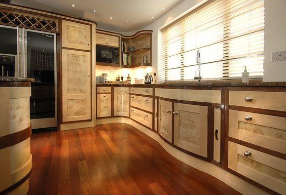 art deco style kitchen