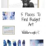 5 Places To Find Budget Art