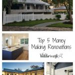 Top 5 Money Making Renovations