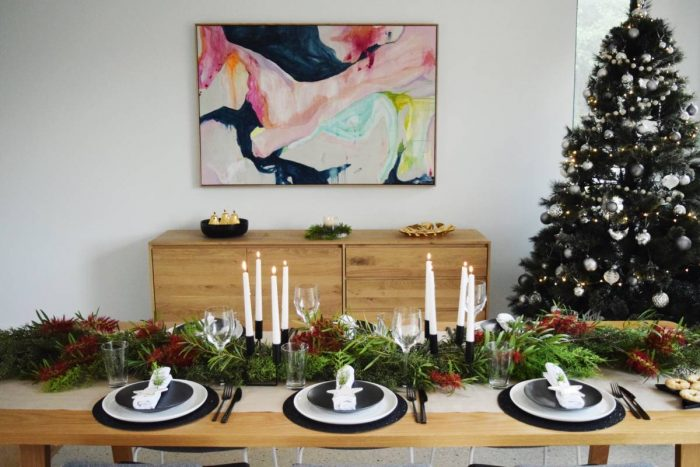 Australian Christmas Decorations.Australian Christmas Table Decorating Inspired Space The