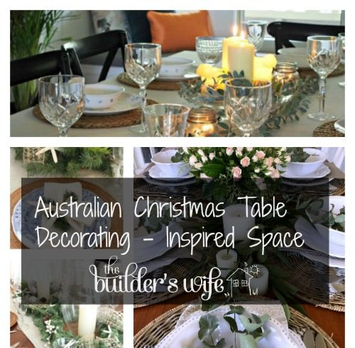 Australian Christmas Table Decorating – Inspired Space