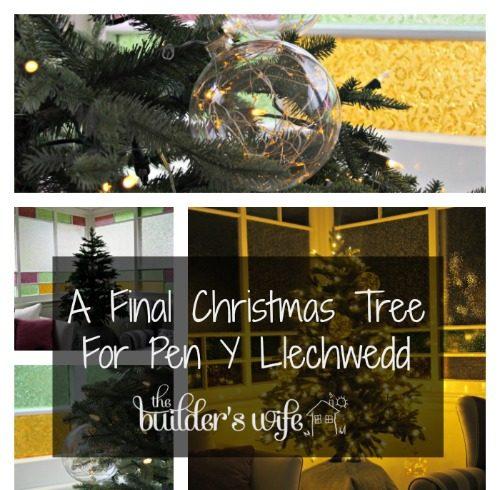 A Final Christmas Tree For Pen Y Llechwedd