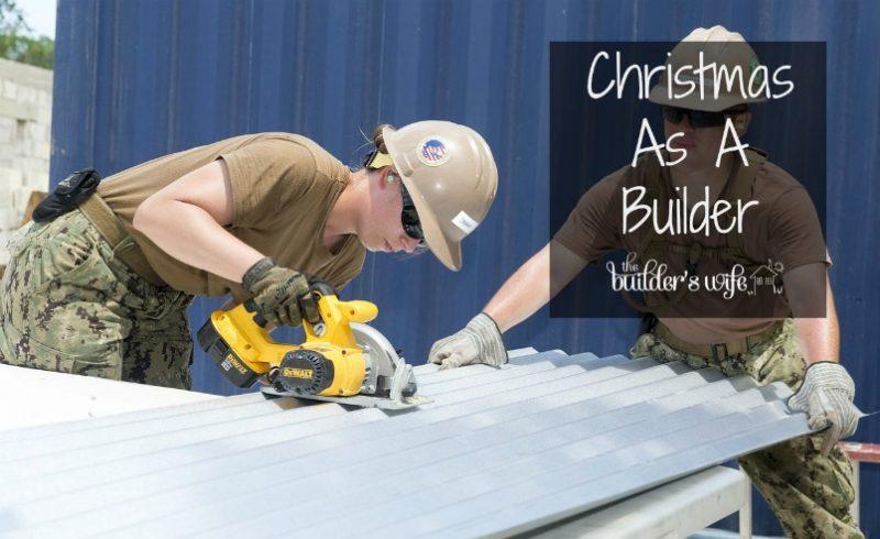 Christmas As A Builder