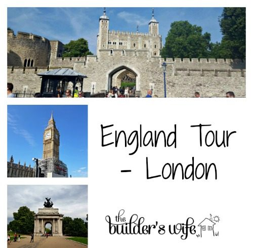 England Tour – London