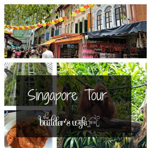 England Tour – Singapore