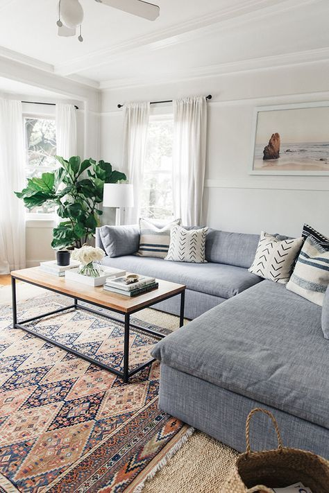 summer home styling lounge simple clean