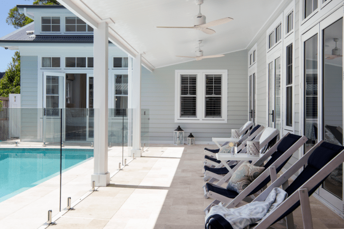 Australian Hamptons Style home Scyon Linea Weatherboard
