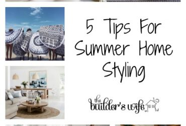 5 Tips For Summer Home Styling