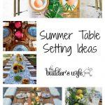 Summer Table Setting Ideas